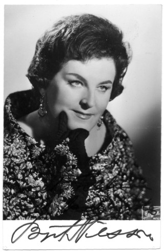 Birgit Nilsson. Recital Wagner - New York, 1981