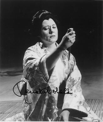 Puccini : Madama Butterfly-Angelo Questa - Napoles, 1958