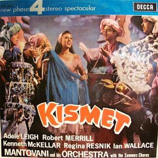 Wrighgt and Forrest : Kismet. Musical after A. Borodin-Mantovani, 1964