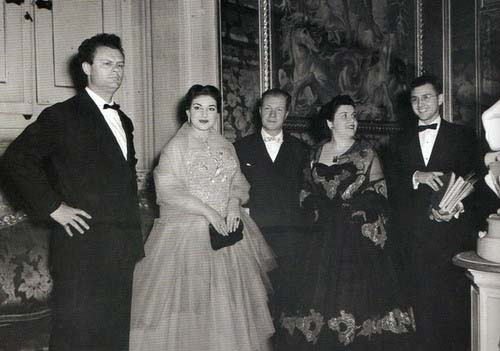 Petri with Callas and Barbieri